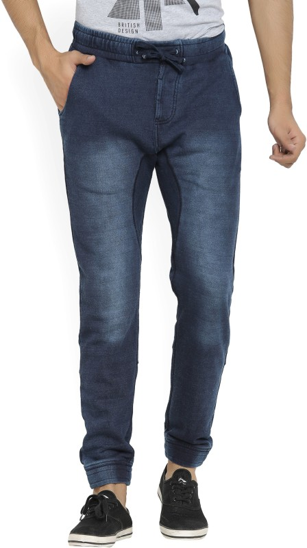 Pepe Jeans Slim Fit Mens Blue Trousers