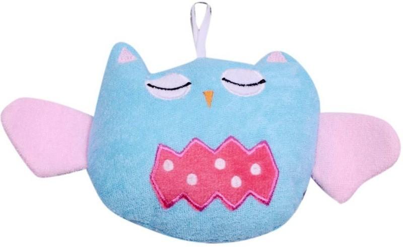 Guru Kripa Baby Products Baby Infant Bathing Soft Sponge Cuticle Scrub Make baby Love Bath Pack Of 1 pcs. (Sky Blue.)