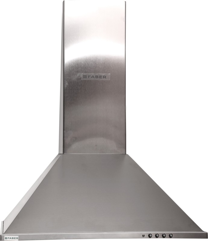 faber ECO 800 SS LTW 60 - Kitchen Chimney Wall Mounted Chimney(Stainless Steel 800 CMH)