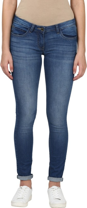 Park Avenue Super Skinny Women Blue Jeans