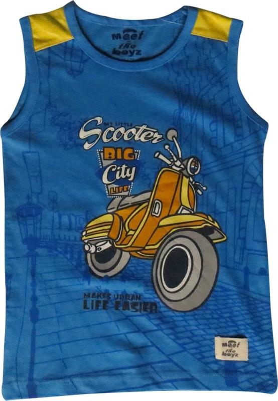 accd8a9c6bd Kothari Boys Printed T Shirt(Dark Blue