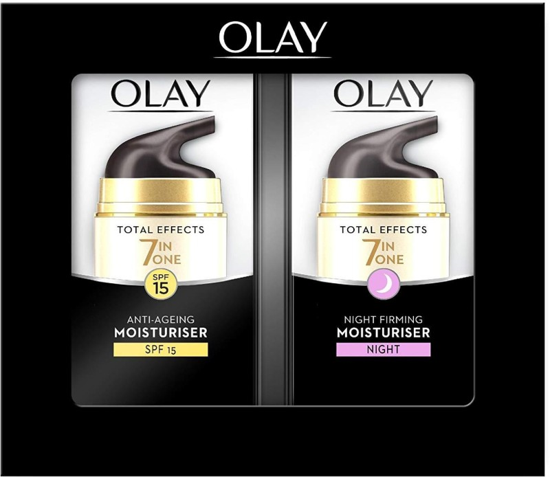 Olay Total Effects Moisturiser Day and Night Cream 37 ml - Duo Pack(74 ml)