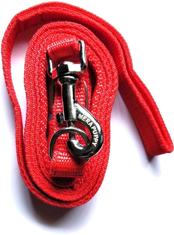 Mera Puppy Leash 50 cm Dog & Cat Strap Leash(Red)