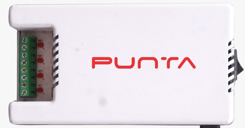 Punta 4 channel power supply 5 Watts PSU(White)