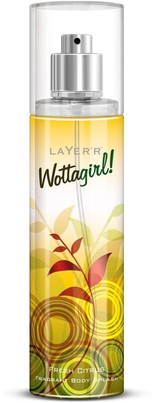 Layer Shot WottaGirl Fresh Citrus Body Spray - For Girls(135 ml)