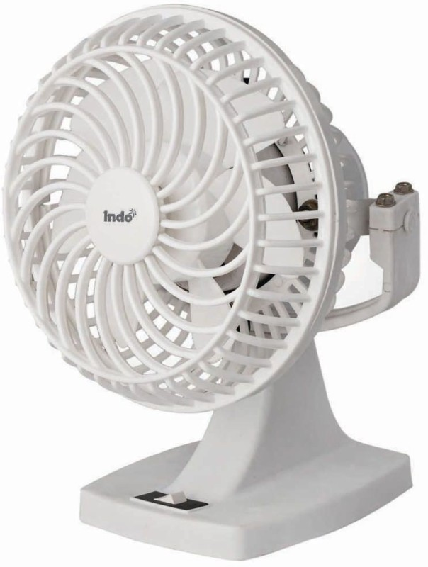 Indo High Tide 9 Inch Wall/Table Fan 3 Blade Wall Fan(White)