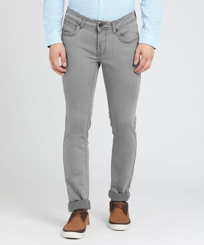 Peter England Skinny Men's Grey Jeans
