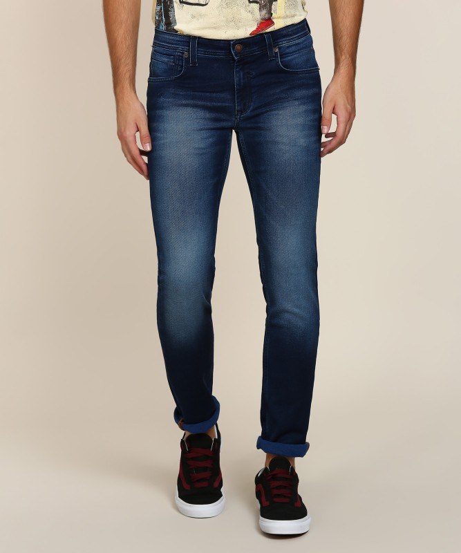 LP Jeans by Louis Philippe Regular Mens Blue Jeans