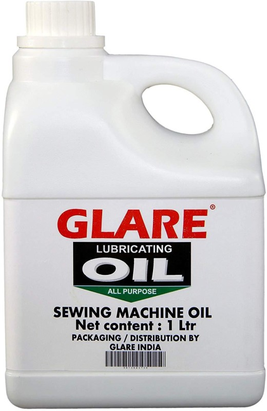 GLARE INDIA Glare Sewing Machine All Purpose (Water White) lubrication Oil -1 ltr 1 L Sewing Machine Oil(Bottle)