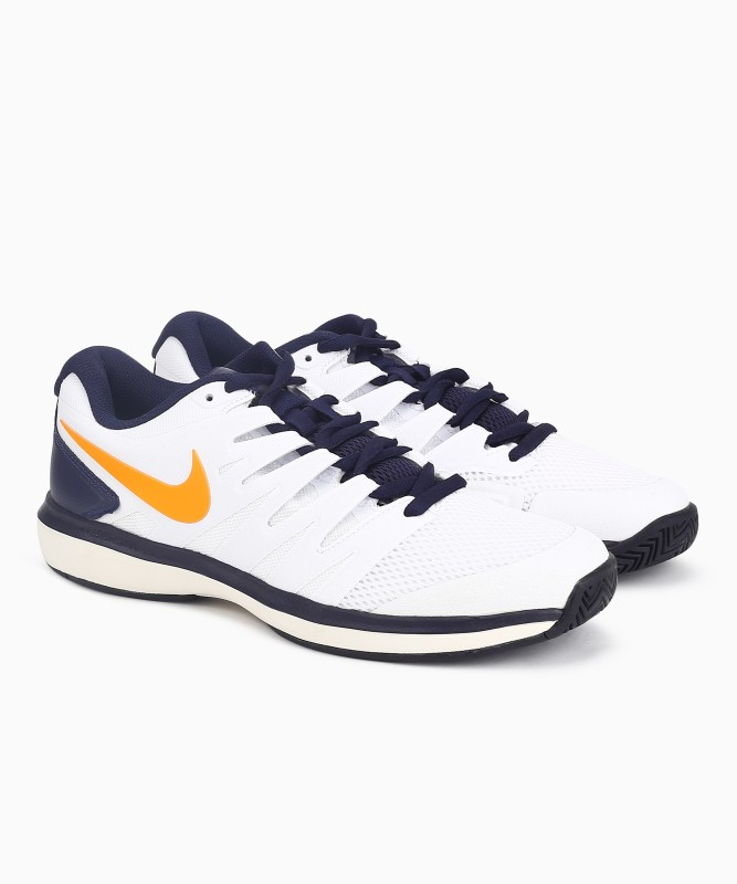 Nike AIR ZOOM Tennis Shoes For Men(White)