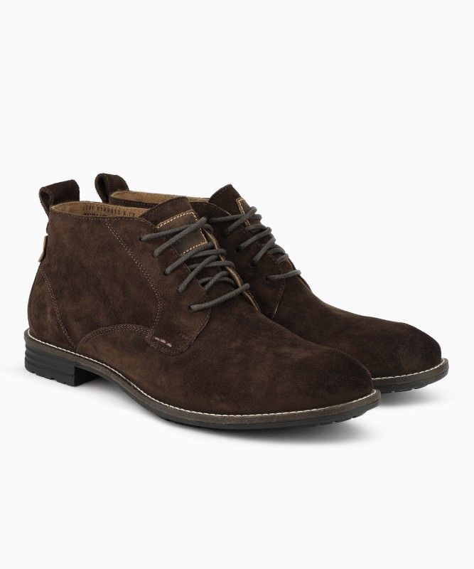 Levis Low Tab Boots For Men(Brown)