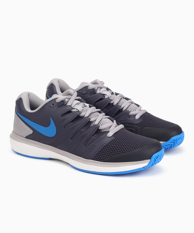 Nike AIR ZOOM Tennis Shoes For Men(Grey)