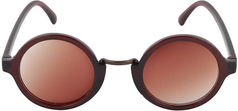 Aventus Round Sunglasses(Brown)