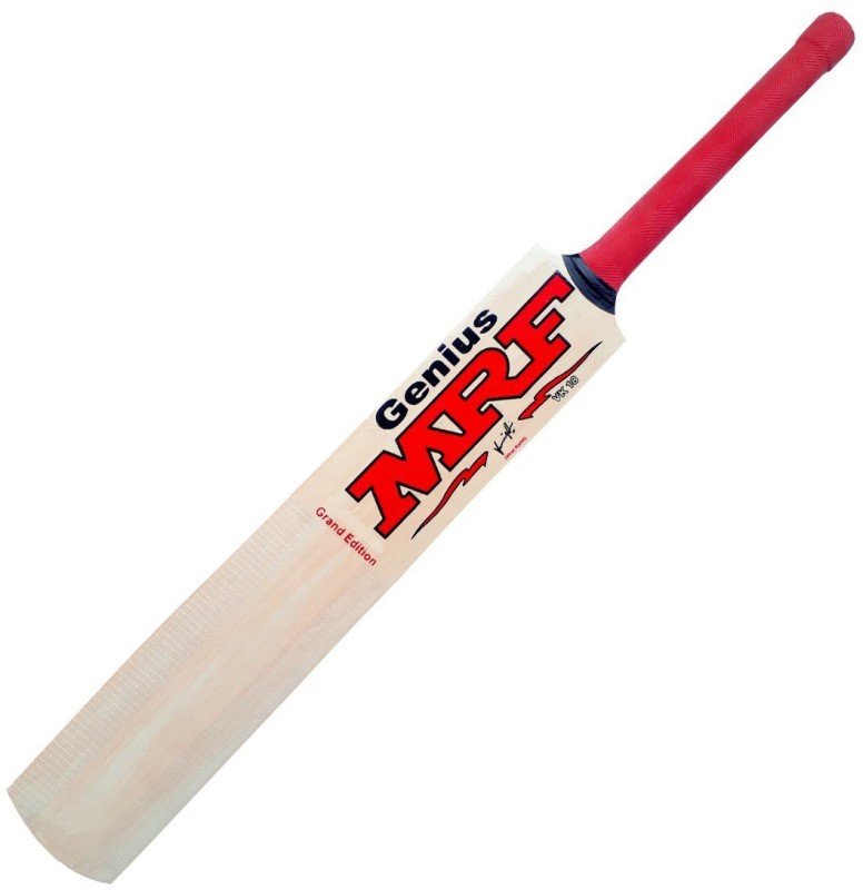 MRF Popular Willow Cricket Bat M Poplar Willow Cricket Bat(Short Handle, 1050-1200 kg)