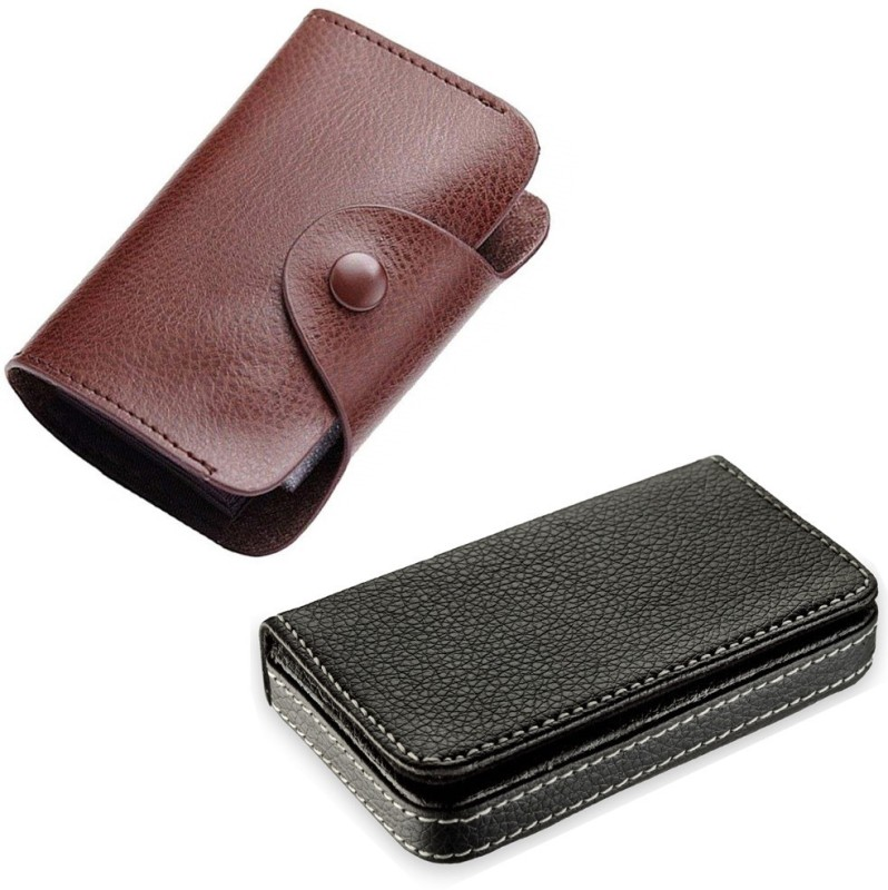 Flipkart SmartBuy 15 Card Holder(Set of 2, Multicolor)