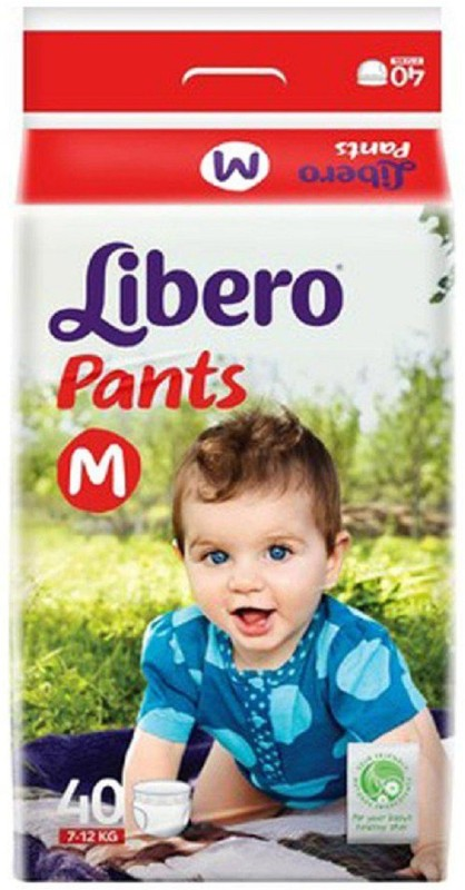 Libero Medium Size Diaper Pants - M(40 Pieces)