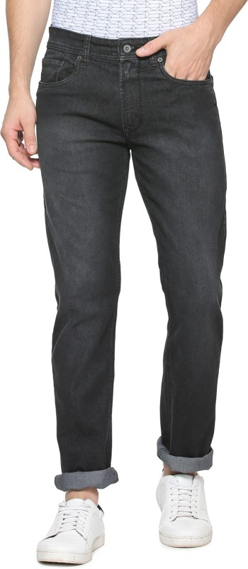 Peter England Slim Men Black Jeans