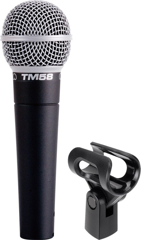 Superlux Vocal Dynamic Mic Multi-Purpose Cardioid Microphones with Mic Holder and Colour Ring Microphone