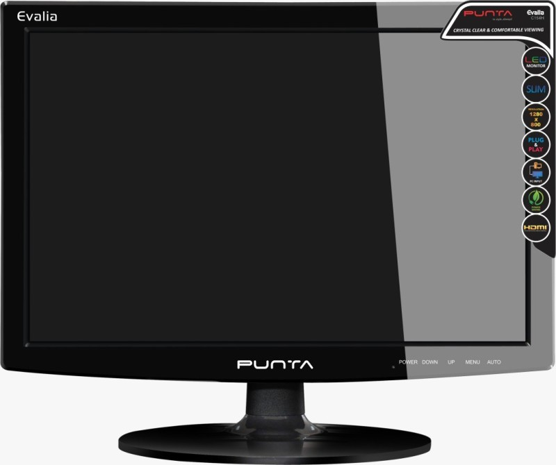 Punta 15.4 inch HD Monitor (Evalia 15.4 HDMI)(VGA)