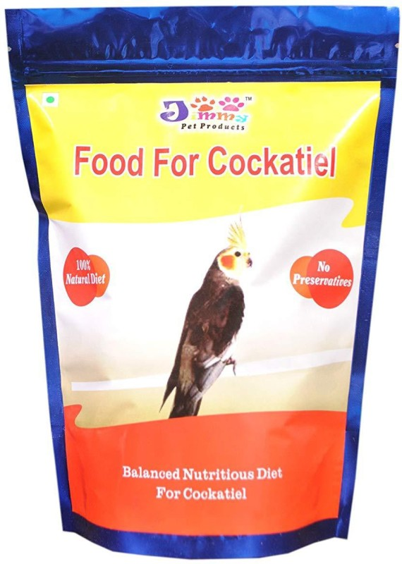 JiMMy For Cockatiel 900 g Dry Bird Food