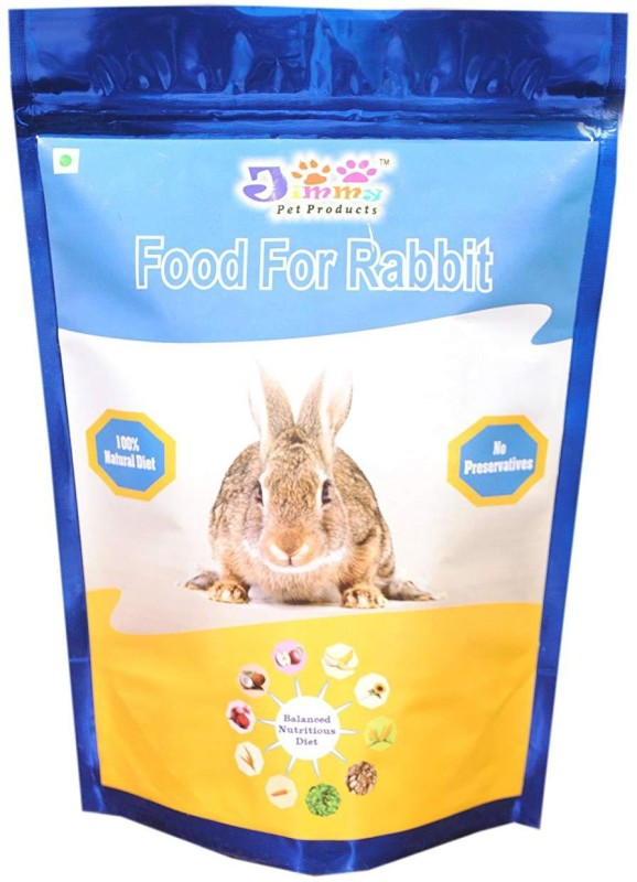 JiMMy Food For Rabbit - 900 GMS Pack 900 g Dry Rabbit Food