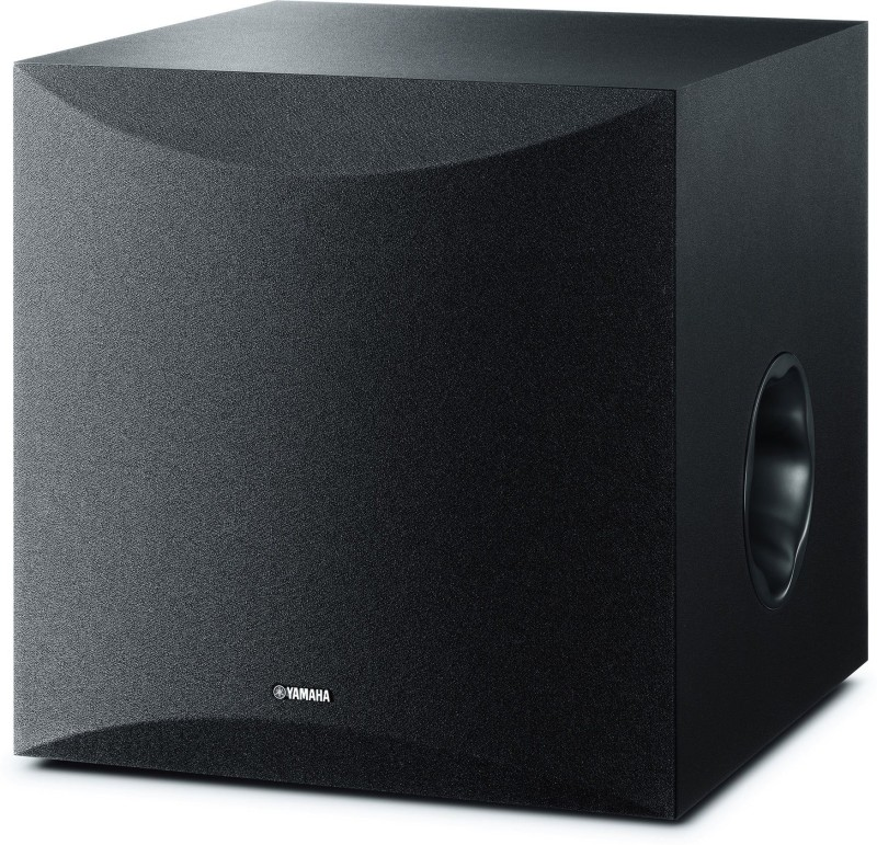 Yamaha NS-SW 100 10 Inch Sub Woofer, Powered, Clear, Accurate Bass Peak Power Output Watts 100 W Home Theatre(Black, Mono Channel)