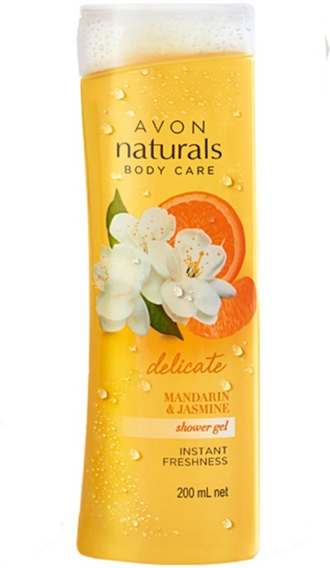 Avon Anew Naturals Shower Gel - Jasmine & Mandarin 200 ml(200 ml)