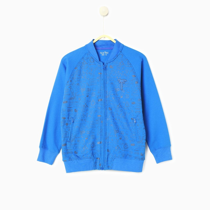 Gini & Jony Full Sleeve Printed Boys Jacket