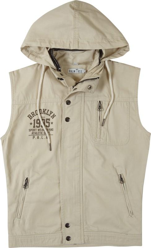 Gini & Jony Sleeveless Solid Boys Jacket