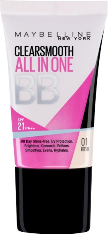 Maybelline Clearsmooth All In One BB Cream (01 Fresh)(18 ml)