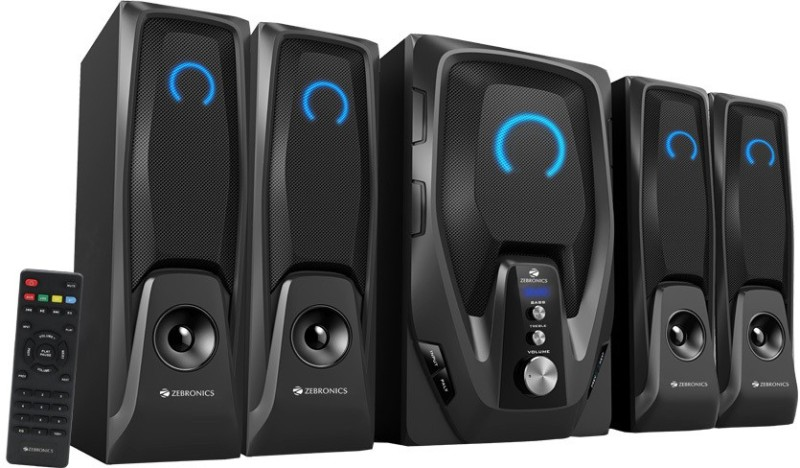 Zebronics Mambo-BT RUCF Bluetooth Home Theatre(Black, 4.1 Channel)