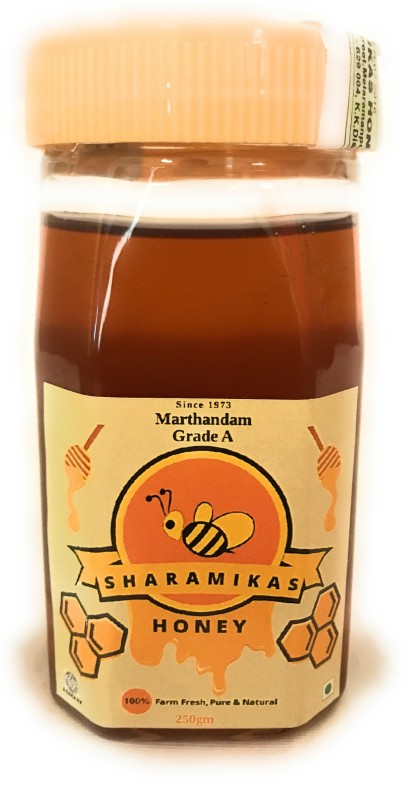 Sharamikas Agmark Certified Grade A Pure Marthandam Honey 250g(250 g)