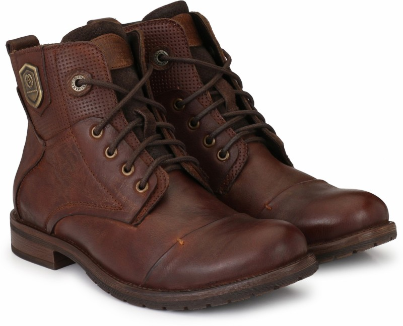 Alberto Torresi Boots For Men(Brown)