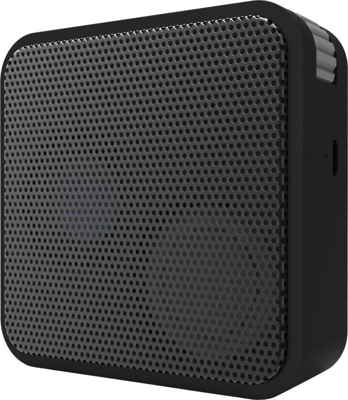 Portronics Cubix BT 2 W Portable Bluetooth Speaker(Black, Mono Channel)
