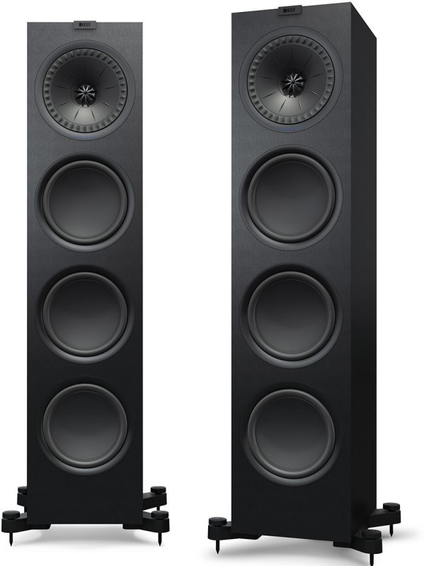 Kef Q-950 Floor Standing Speaker Pair 200 W Tower Speaker(Black, 2.0 Channel)
