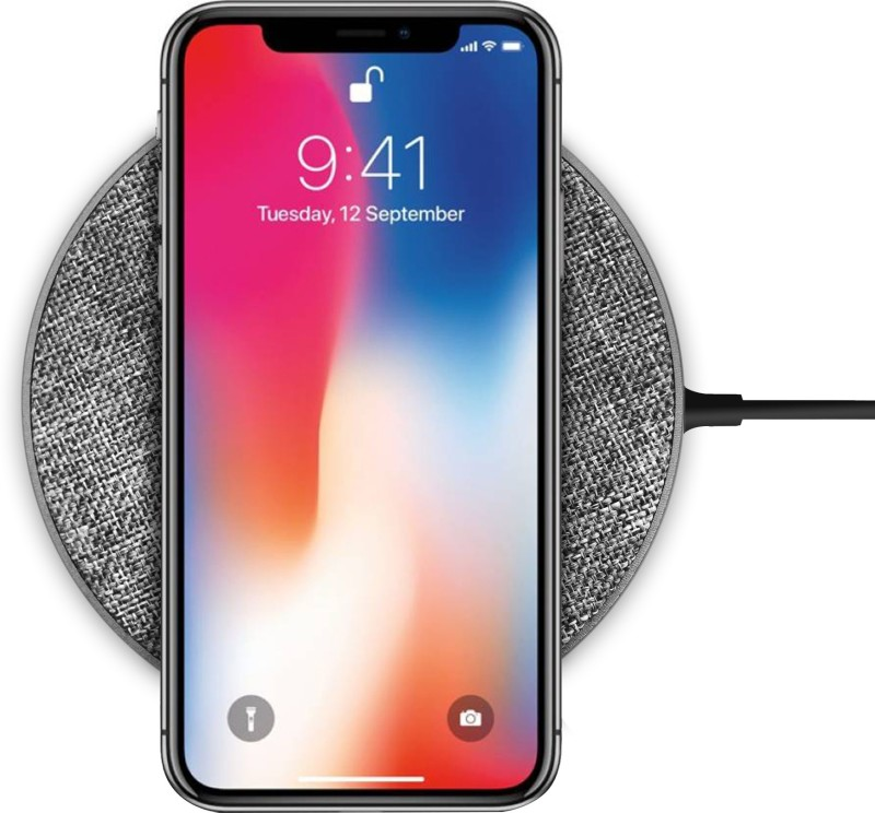 Knotyy Wireless Charger 10W Qi Fast (Round) Charging Pad