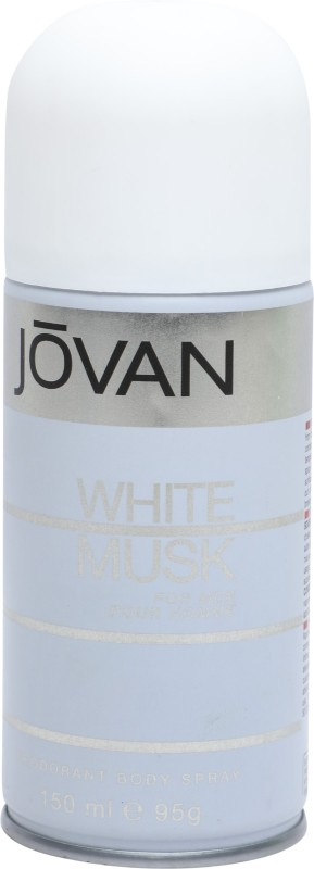 Jovan White Musk Body Spray - For Men(150 ml)