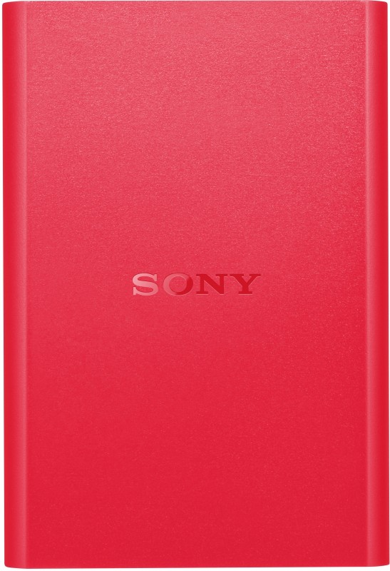 Sony 2 TB Wired External Hard Disk Drive(Red)