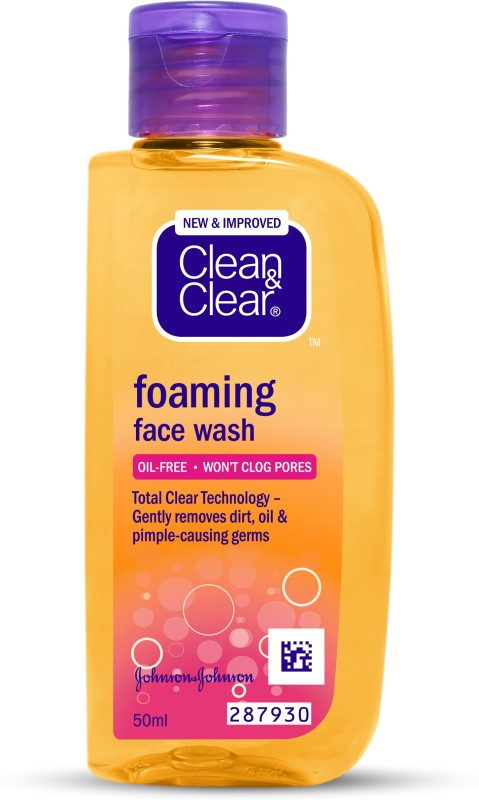 Clean & Clear Foaming Face Wash(50 ml)