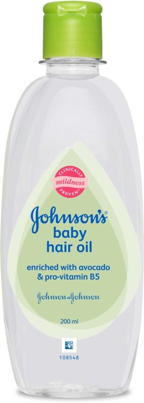 Johnson's Baby Avocado Hair Oil(200 ml)