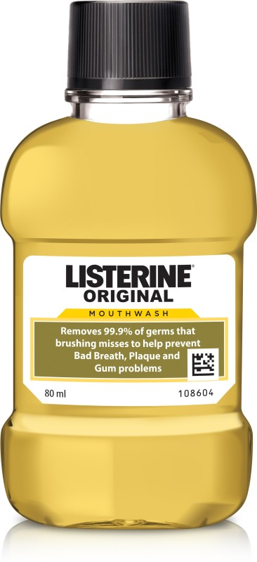 Listerine Mouthwash - Original(80 ml)