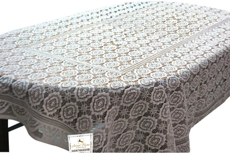 Loomkart White Organic Cotton Table Linen Set(Pack of 1)