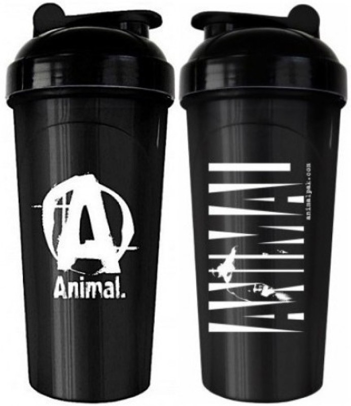 ANIMAL SHAKER PROTEIN SHAKER 700 ml Shaker(Pack of 1, Black)