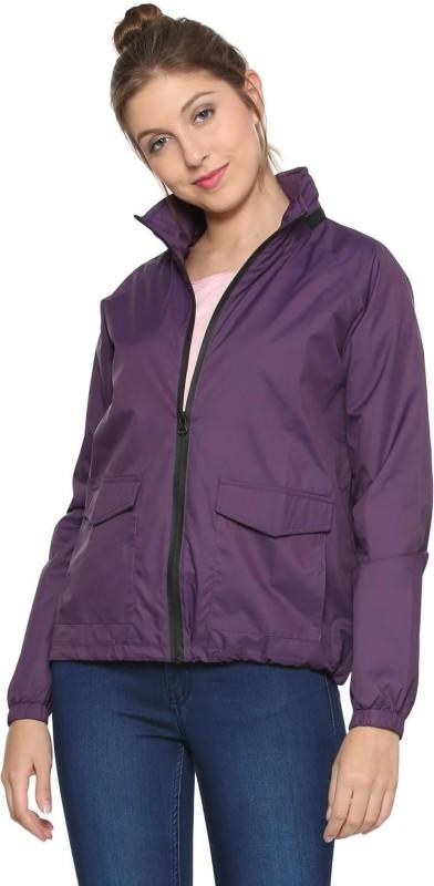 People Full Sleeve Solid Women Jacket
