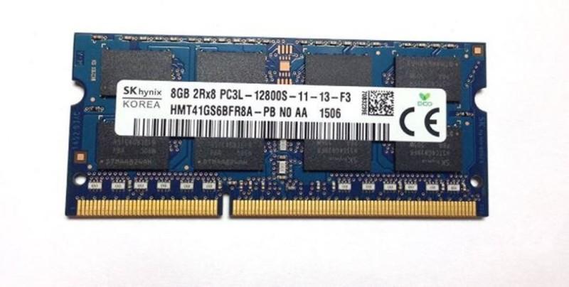 Hynix Low Voltage Ram 1.35 Volt DDR3 8 GB (Dual Channel) Laptop, Mac SDRAM (HMT41GS6BFR8A-PB)(Blue)
