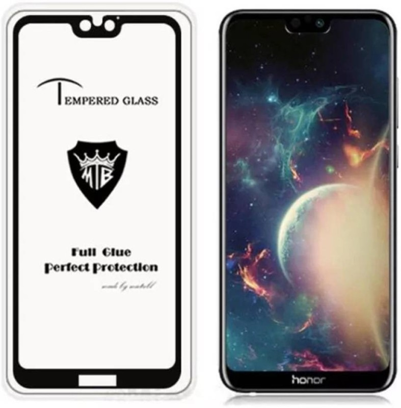 Aspir Edge To Edge Tempered Glass for Honor 9N(Pack of 1)