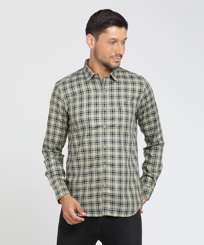 Allen Solly Men Checkered Casual Multicolor Shirt