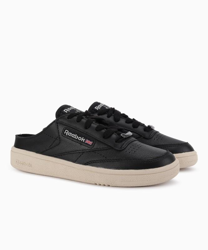 REEBOK CLASSICS CLUB C 85 MULE Tennis Shoes For Women(Black)