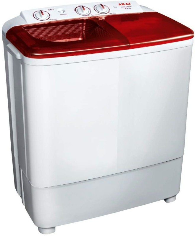 akai 6.5 kg Semi Automatic Top Load Washing Machine Multicolor(AKSW-6501BD)