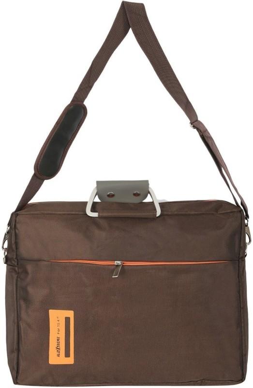 AllExtreme 15.4 Inch Laptop Bag Messenger Bag Hand Bag Multi-compartment Nylon Briefcase Shoulder Bag For Laptop Notebook Ultrabook Apple HP Acer Macbook Asus Lenovo for Men and Women 14 L Laptop Backpack(Brown)